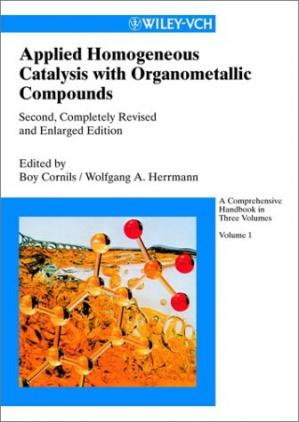Εξώφυλλο βιβλίου Applied Homogeneous Catalysis with Organometallic Compounds