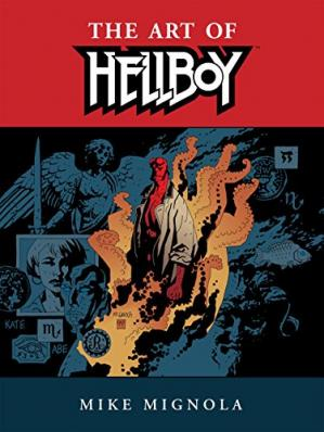 Book cover Hellboy: The Art of Hellboy
