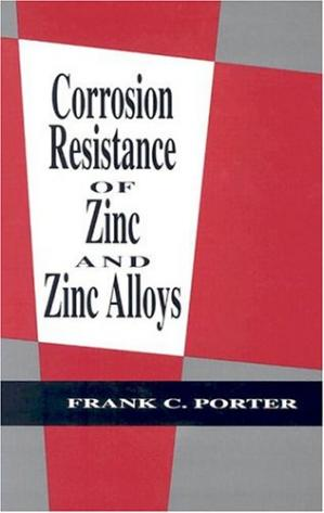A capa do livro Corrosion Resistance of Zinc and Zinc Alloys