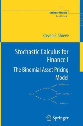 Book cover Stochastic Calculus for Finance I: The Binomial Asset Pricing Model (Springer Finance)