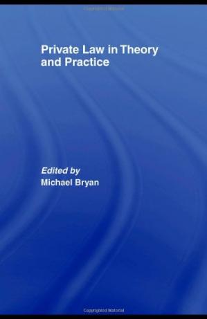 Buchdeckel Private Law in Theory and Practice
