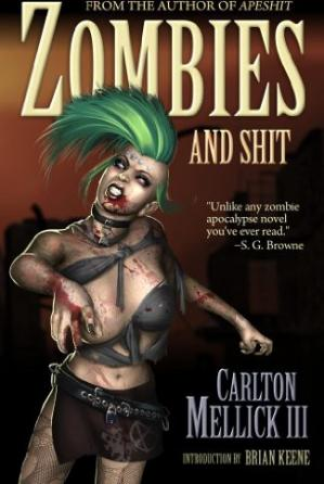 Book cover Zombies and Shit