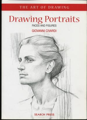 Book cover Drawing Portraits Faces, Figures