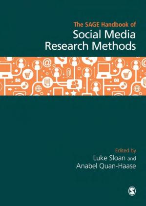 A capa do livro The SAGE Handbook of Social Media Research Methods