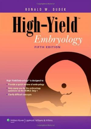 Book cover High-Yield Embryology