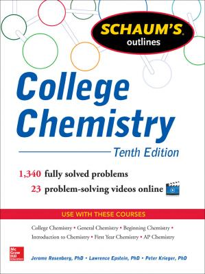 Book cover Schaum's Outline of College Chemistry