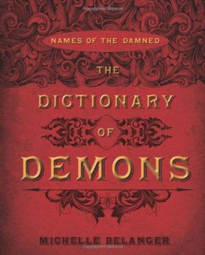 표지 The Dictionary of Demons: Names of the Damned