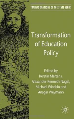 表紙 Transformation of Education Policy (Transformations of the State)