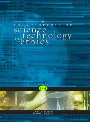 Portada del libro The Encyclopedia of Science, Technology, and Ethics