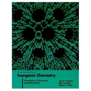 Book cover Inorganic Chemistry: Principles of Structure and Reactivity