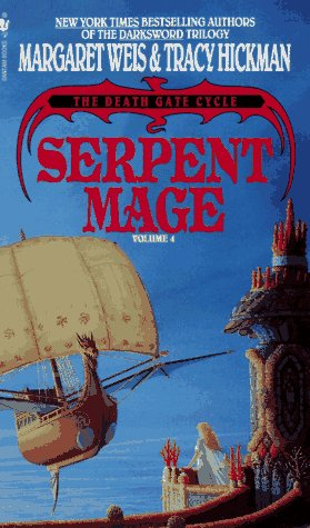 Book cover Serpent Mage (The Death Gate Cycle, Vol 4)