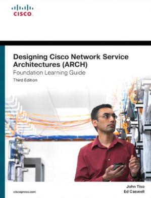 Book cover CCDP Designing Cisco Network Service Architectures ARCH 300-320 Official Cert Guide