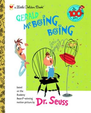 Book cover Gerald McBoing Boing (Little Golden Book)
