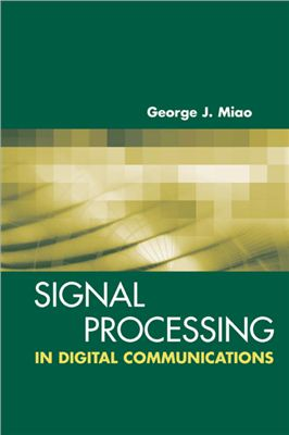 Book cover Signal Processing in Digital Communications