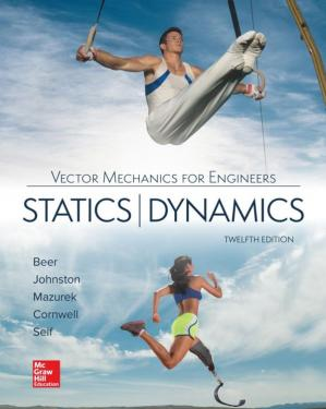 Book cover Vector Mechanics for Engineers: Statics and Dynamics