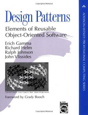 Обложка книги Design Patterns: Elements of Reusable Object-Oriented Software