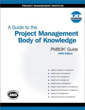 Εξώφυλλο βιβλίου A Guide to the Project Management Body of Knowledge (PMBOK Guide)