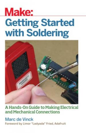 Обложка книги Getting Started with Soldering: A Hands-On Guide to Making Electrical and Mechanical Connections