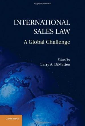 Book cover International Sales Law: A Global Challenge