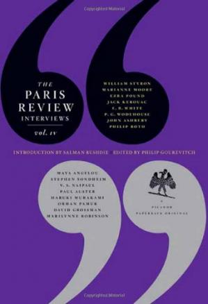 Okładka książki The Paris Review Interviews, IV
