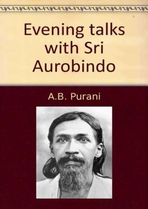 Book cover Evening talks with Sri Aurobindo