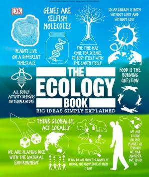 Okładka książki The Ecology Book (Big Ideas Simply Explained)