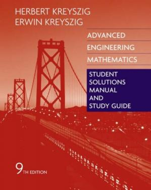 ปกหนังสือ Advanced Engineering Mathematics - Solutions Manual