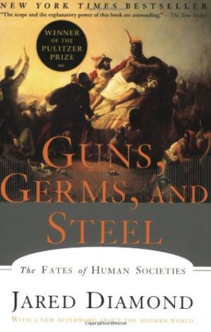 Book cover Guns, Germs, and Steel: The Fates of Human Societies