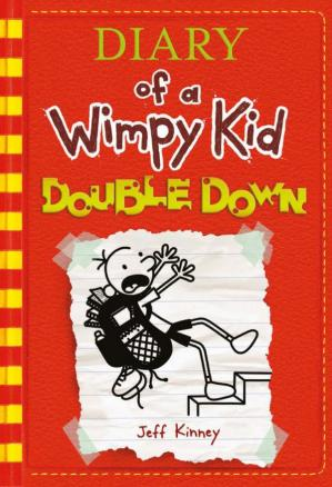 Book cover Diary of a Wimpy Kid: Double Down