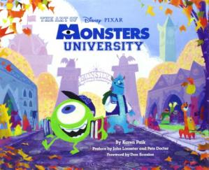 Book cover The art of Monsters University