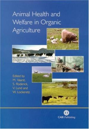 Sampul buku Animal health and welfare in organic agriculture