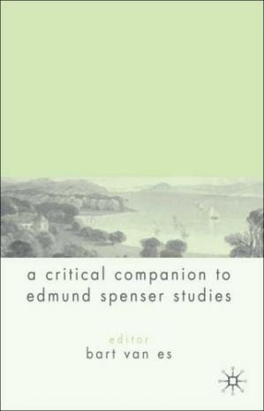 Buchdeckel A Critical Companion to Spenser Studies