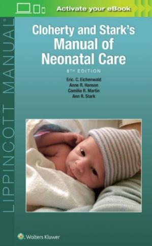 Book cover Cloherty and Stark's Manual of Neonatal Care