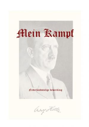 Book cover Mein Kampf