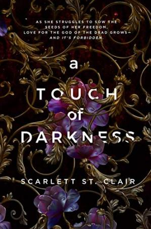 Korice knjige A Touch of Darkness