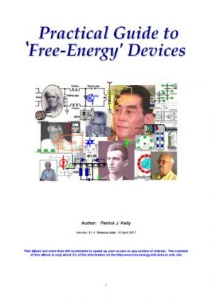 Book cover A Practical Guide to Free Energy Devices ~ Chapter 6 : Battery-Charging Pulsed Systems