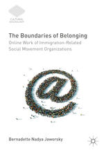 A capa do livro The Boundaries of Belonging: Online Work of Immigration-Related Social Movement Organizations