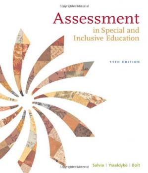 Book cover Assessment: In Special and Inclusive Education , Eleventh Edition