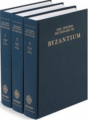 Copertina The Oxford Dictionary of Byzantium 3-Volume Set