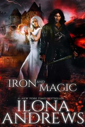 Book cover Iron and Magic