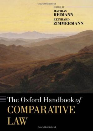 Okładka książki The Oxford Handbook of Comparative Law