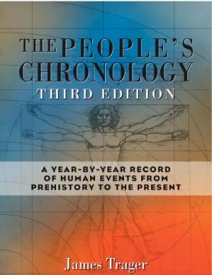 წიგნის ყდა The People's Chronology: A Year-by-Year Record of Human Events from Prehistory to the Present