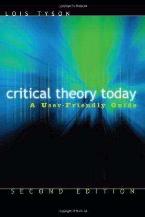 Buchdeckel Critical Theory Today: A User-Friendly Guide