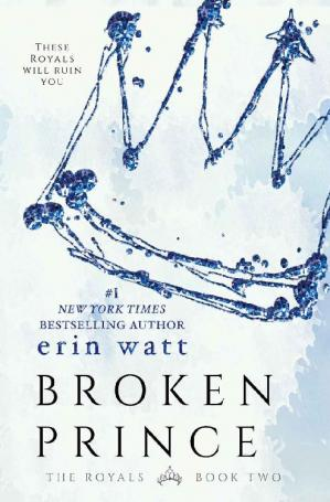 Book cover Broken Prince