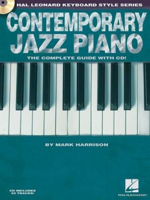 Book cover Contemporary Jazz Piano: Hal Leonard Keyboard Style Series