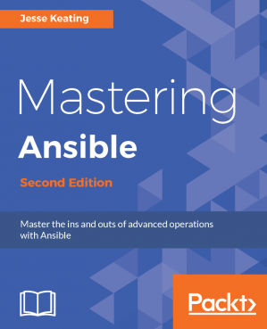 Book cover Mastering Ansible - Second Edition