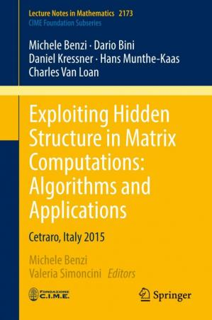 Book cover Exploiting Hidden Structure in Matrix Computations: Algorithms and Applications: Cetraro, Italy 2015
