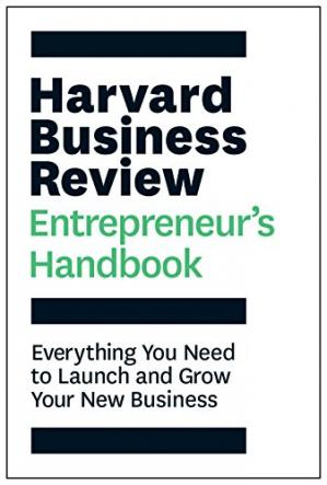 Okładka książki The Harvard Business Review Entrepreneur's Handbook