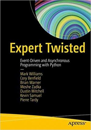 Copertina Expert Twisted: Event-Driven and Asynchronous Programming with Python