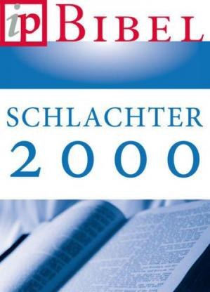 Book cover Die Bibel: Schlachter Version 2000